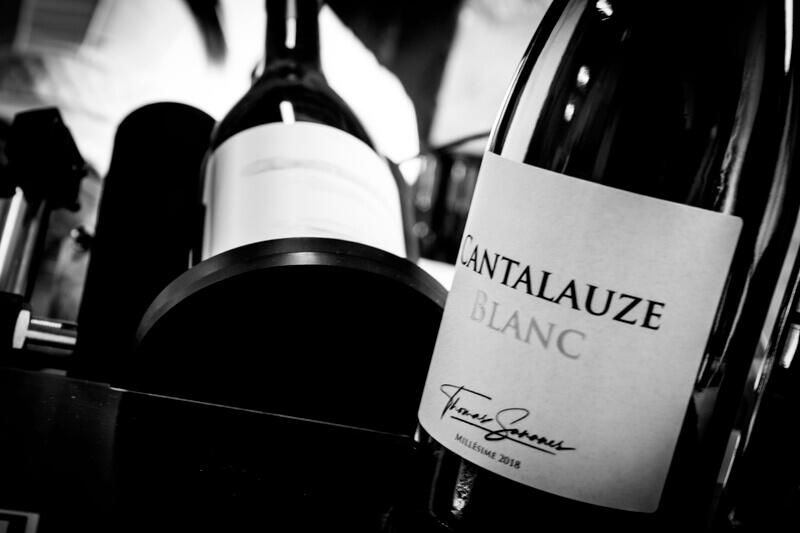 Bouteilles de vin de Cantalauze