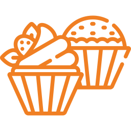 Icone de cupcakes